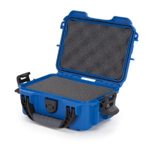 NANUK CASES 903-1008 Protective Case, With Foam, Size 231 x 173 x 97 mm, Blue | CD7LWH