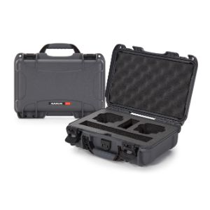 NANUK CASES 909-ACTION7 Camera Case, With Foam, For DJI Osmo Action, Size 321 x 229 x 117 mm, Graphite | CD7MAB