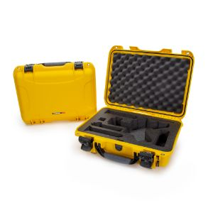 NANUK CASES 923-RONS4 Gimbal Case, For DJI Ronin-S, Size 472 x 366 x 161 mm, Yellow | CD7MJZ