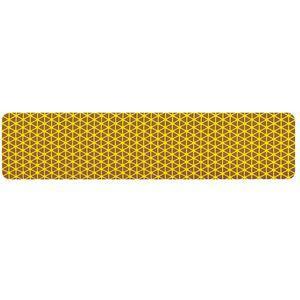 ORALITE 18366 Reflective Tape, Yellow, 9 Inch L, 2 Inch W | CD3HME 45TR99