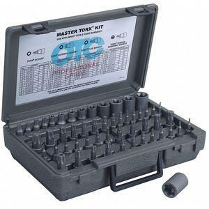 OTC 5900A-PLUS Black Oxide Socket Set, Number of Pieces 53, 1/4 Inch, 3/8 Inch, 1/2 Inch Drive | CD2WVB 415J01