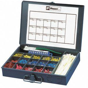 PANDUIT K1-PNKIT Wire Terminal Kit, Number of Pieces 1177, Number of Sizes 14 | CD2WVW 436M07
