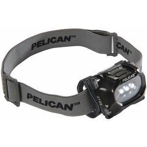PELICAN 2745C LED Headlamp, Plastic, 50, 000 hr. Lamp Life, Black | CD3RGZ 49XK74