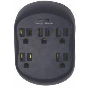 POWER FIRST   52NY49   CD2HMB   Surge Protector Plug Adapter