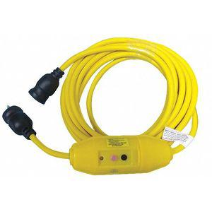 POWER FIRST 53TY61 Line Cord GFCI, 125 VAC Voltage Rating, Number of Poles 2   CD3XJZ 53TY61