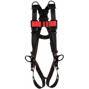PROTECTA 1161532 Vest-Positioning Harness, 420 Lbs. Weight Capacity, Black, M/L | CD3BXC 470X35