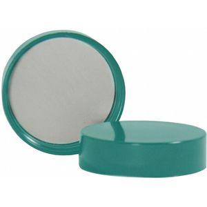 QORPAK 272633 Thermoset Screw On Cap, 15 mm Mouth, Green, 500 Pk | CD3QYX 460P04
