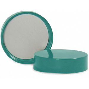 QORPAK 272629 Wide-Mouth Cap, Thermoset Screw, Green, 500 Pk | CD2ZBC 437T36