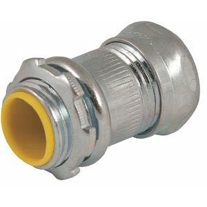 RACO 2913 EMT Compression Connector, 3/4 Inch, 1-9/32 Inch Overall Length | CD2YUL 52AU91