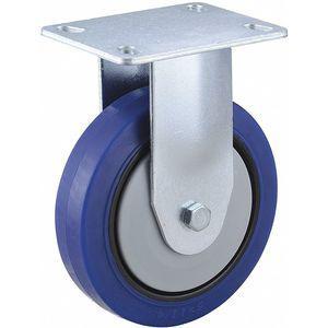 GRAINGER 437V22 5 Inch Light-Medium Duty Rigid Plate Caster, 308 Lbs. Load Rating | CD2NEV 437V22