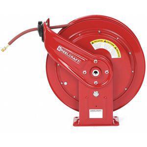 REELCRAFT HD76075 OLP 3/8 Inch, 75 ft. Spring Return Hose Reel, 300 Psi Max. Pressure | CD2NHV 448F71
