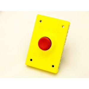 REES 00294-002 Pulsante, plastica, stantuffo, rosso | AX3KQR