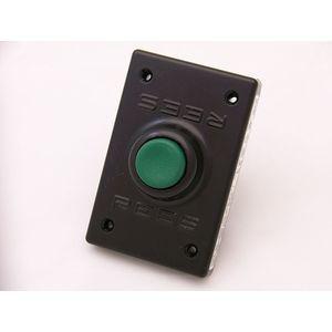 REES 00294-003 Pulsante, plastica, stantuffo, verde | AX3KQT