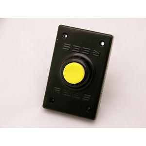 REES 00294-004 Pulsante, plastica, stantuffo, giallo   AX3KQU