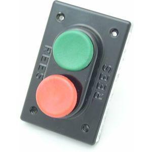 REES 01957-032 Pulsante a doppio pistone, verde / rosso, 1.38 Misura | AX3KUA
