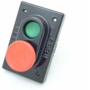 REES 01968-132 Pulsante a doppio pistone, verde / rosso | AX3KUC