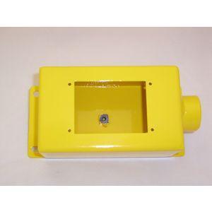 REES 02765-100 Contenitore monoforo, giallo | AX3KWZ