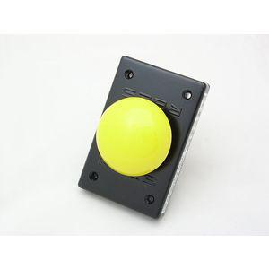 REES 02911-004 Pulsante a fungo, giallo, misura 2.25 | AX3KXG