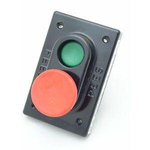 REES 03605-232 Pulsante a doppio pistone, verde / rosso | AX3KXZ