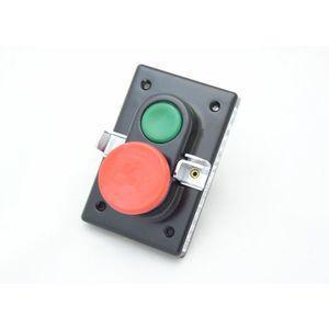 REES 04087-032 Pulsante a doppio pistone, verde / rosso, lucchetto con chiusura | AX3KYK
