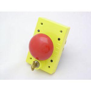 REES 04161-002 Pulsante con serratura a chiave, rosso | AX3KYM