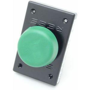 REES 04948-003 Pulsante per spolverizzatore a fungo, Verde-nero | AX3LBL