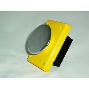 REES 04957-012 Pulsante piatto cromato, a scatto, cromato | AX3LCT