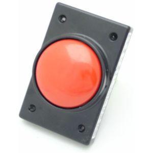 REES 04960-602 Pulsante a stantuffo a fungo, schermato, rosso   AX3LDH