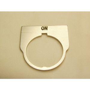REES 09014-006 Legend Plate, Standard, On, Trasparente | AX3LJQ