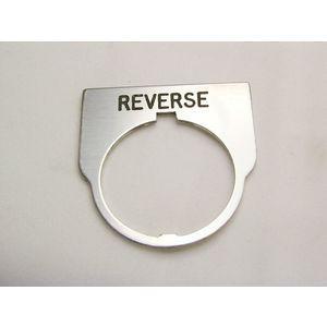 REES 09014-022 Legend Plate, Standard, Reverse, Trasparente   AX3LKH