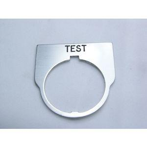 REES 09014-027 Targhetta con legenda, standard, test, trasparente   AX3LKN