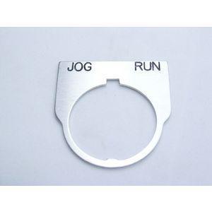 REES 09014-036 Legend Plate, standard, corsa jog, trasparente | AX3LKY