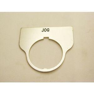 REES 09017-010 Legend Plate, Standard, Jog, Trasparente | AX3LMF