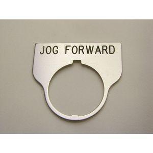 REES 09017-017 Legend Plate, Standard, Jog Forward, Trasparente | AX3LMN