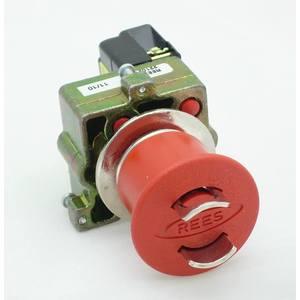 REES 22102-132 Pulsante di arresto di emergenza, bloccabile, rosso | AX3LPD