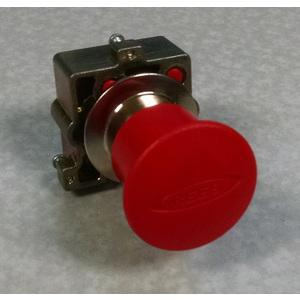 REES 22102-222 Pulsante di arresto di emergenza, rosso | AX3LPJ