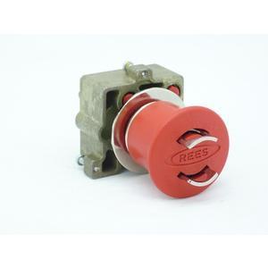REES 22102-502 Pulsante di arresto di emergenza, bloccabile, rosso   AX3LPP