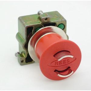 REES 22102-522 Pulsante di arresto di emergenza, bloccabile, rosso | AX3LPR