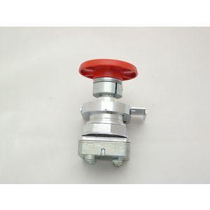 REES 40102-002 Pulsante, fungo, pistone, rosso   AX3LRA