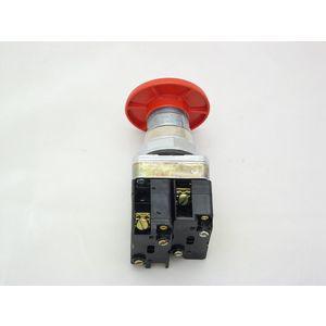 REES 40102-202 Operatore a pulsante ad apertura positiva, rosso   AX3LRJ