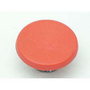 REES 43200-042 Mushroom Plunger Head, Red, 2 Diameter   AX3LUD