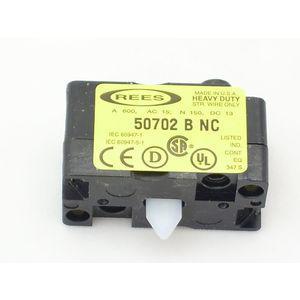 REES 50702-000 Blocco contatti, tipo B, circuito singolo | AX3LVJ