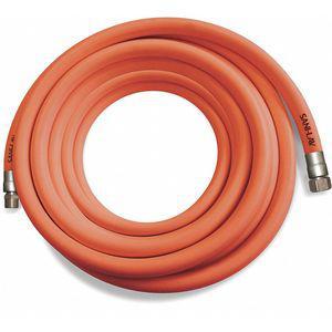 SANI-LAV H503 50 ft.L EPDM Washdown Hose, 1-1/8 Inch Pipe Size, Safety Orange | CD2MDR 53XV13