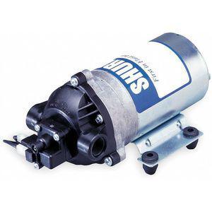 SHURFLO 8000-813-238 Nylon Diaphragm Pump, 1.6 GPM Max., 115 VAC | CD3VLJ 4UN55