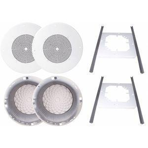 SPECO TECHNOLOGIES | G86KITPRC | CD2FEL | 45MK50 | In-Ceiling Speaker Kit