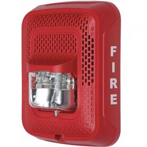 SYSTEM SENSOR SPSRL Speaker Strobe, Speaker Strobe, Red   CD2MLM 54TP92