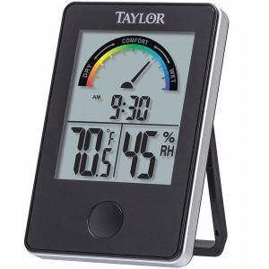 TAYLOR 1732 Digital Hygrometer, Indoor, 14 to 122 Deg. F | CD2YTJ 48TA32