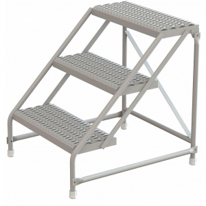 TRI-ARC KDST003242 Step Stand, 30 Inch Overall Height, 500 Lbs. Load Capacity, Number of Steps 3 | CD3VHQ 403U05