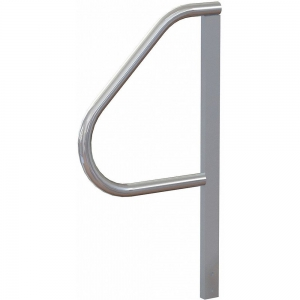 TRI-ARC MPASHR3 Stair Unit Handrail, 32 Inch Height, Aluminum | CD3WHB 53JE77