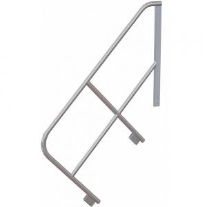 TRI-ARC MPASHR6 Stair Unit Handrail, 32 Inch Height, Aluminum | CD3XYL 53JE80